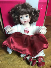 """Marie Osmond Tiny Tots Doll ~ 5.5"""" SUSIE ROSE BOUQUET ~ in Box"""