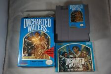 Uncharted Waters (Nintendo NES) Complete in Box NEAR MINT