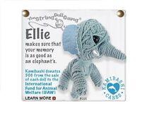 Kamibashi Ellie the Elephant The Original String Doll Gang Keychain Clip