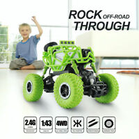 1/43 2.4G 4WD Remote Control Mini Racing Crawler RC Off-road Monster Truck Car