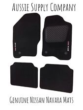 GENUINE Nissan Navara D40 STX550 4 Piece Car Mats New Branded $ 189 RRP