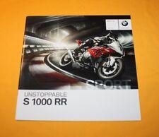 BMW S 1000 RR 2011 Prospekt Brochure Depliant Catalog Prospect Folder Broschyr