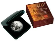 2004 Canada Proof Silver Dollar 400th Anniversary French Settlement With Box/Coa