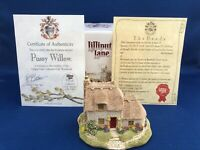 Lilliput Lane SIGNED - PUSSY WILLOW Collector's Club Piece 1992-1993 NEW IN BOX