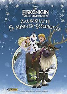 Disney Die Eiskönigin: Zauberhafte 5-Minuten-Geschichten...   Buch   Zustand gut