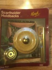 Curtain ScarfHolder, HoldBacks by Krisch #5460