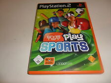 PLAYSTATION 2 PS 2 EYETOY: play-Sports