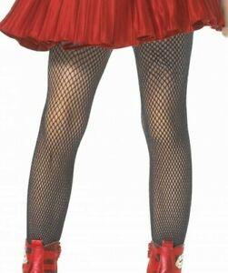 Child Girls Fishnet Tights Black Fancy Dress Costume Dance Age 1 2 3 4 11 12 13