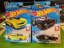 HOT WHEELS NEW 2021 '10 PRO STOCK CAMARO and RODGER DODGER 8 BALL / PICTIONARY