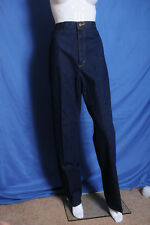 "Vintage '70s Lee elastic high waist mom jeans dark blue 14  30""X33"" USA"