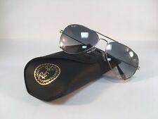 Neu Ray Ban RB Sonnenbrille 3025 003 32 Aviator im Silber Gr.58