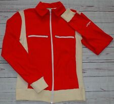 Vintage Grasshoppers 70s Red Track Jacket Tracksuit Top Casuals Mod Size Small