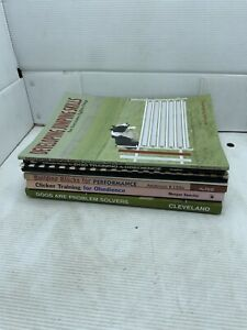 seven dog training books-other?