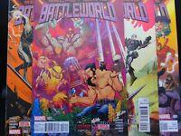 Secret Wars: Battleworld #1-4 (2015) -  Includes 1st Written work by Donny Cates