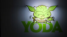Star Wars Yoda 3d Mini LED DECO LáMPARA DE PARED Nuevo Regalo Genial