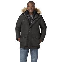 Men's Rocawear Hooded Parka with Bib Black 3XL #NJG1M-G11