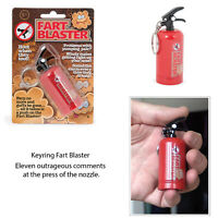 Funtime Fart Noise Blaster Fire Extinguisher Novelty Joke Prank Alarm Keyring