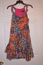 Nanette Lepore Women's 6 Colorful Silk Lined Dress