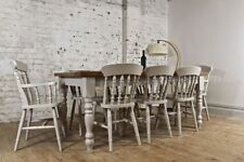 Handmade Farmhouse Up to 8 Seats Table & Chair Sets