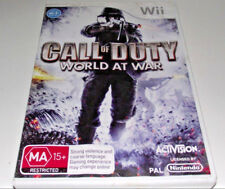 Call of Duty World at War Nintendo Wii PAL *Complete* Wii U Compatible