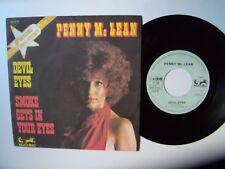"""PENNY Mc LEAN : Devil eyes / Smoke gets in your eyes 7"""" 45T EURODISC 911074"""