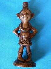 Vintage 1960'S Treasure Craft Menehune Hawaiian Tiki Pixie Elf Ceramic Figurine