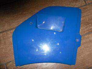 SUZUKI RG125 RG 125 GAMMA BLUE NEW LEFT SIDE PATTERN FAIRING PANEL 1985 on #
