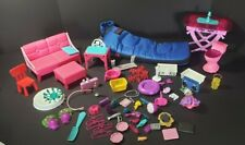 BARBIE DREAMHOUSE FURNITURE AND ACCESSORIES COLEMAN SLEEPING BAG