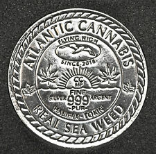 Halifax, NS - Real Sea Weed - 1 oz. Fine Silver Medal - Limited Edition