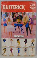 Butterick Barbie Rocker Outfits Pattern Vintage 4329