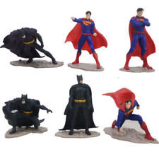 DC Comics 6pcs Batman vs Superman Dawn Of Justice Action Figures Doll Toy Statue