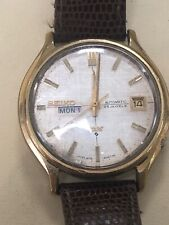 Rare Gents SEIKO Watch DX 6106-8060 SEA LION DAY DATE 60s 25 jewels (1969)