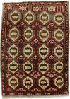 Floral Design Plush Small Entryway 2X3 Vintage Rug Oriental Home Kitchen Carpet