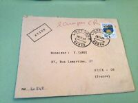Republic Gabonaise  to France Airmail stamps Cover Ref 51440