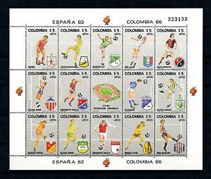 [60854] Colombia 1982 World Cup Soccer Football Spain MNH