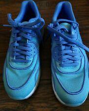 Nike Air Max 90 Ultra 2.0 BR Blue Polarize Blue 917523 400 Womens Sz 8