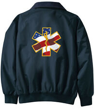 EMT EMS Embroidered Jacket - Jacket Back - Sizes XS thru XL