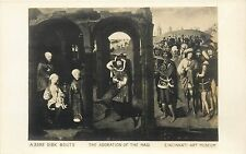 The Adoration of the Magi Dirk Bouts Cincinnati Art Museum RPPC Postcard