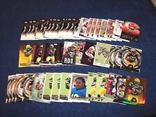 EDDIE LACY SEAHAWKS PACKERS ALABAMA RC ROOKIE LOT OF 52 CARDS (817-29)