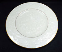 """Lenox China Fruits of Life Embossed Round Platter 1988, 13"""", with box"""
