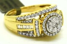 GENUINE 2.36 Cts DIAMONDS ENGAGEMENT RING 10k Gold ** FREE  APPRAISAL & SHIPPING