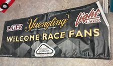 Huge Yuengling Beer Lager Pocono Raceway Welcome Race Fans Vinyl Banner Sign