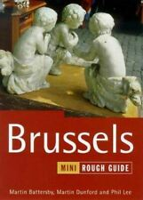 The Rough Guide to Brussels (Mini edition), Battersby, Martin, Like New, Paperba