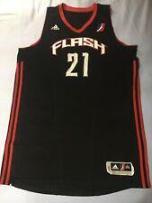 ADIDAS Jordan Brady #21 NBA D-LEAGUE UTAH FLASH AUTHENTIC GAME USED JERSEY 2XL