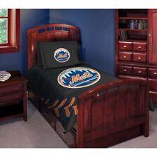 New York Mets MLB Twin/Full Comforter Pillow Sham Set