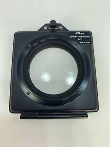 Nikon AF-1 Gelatine Filter Holder for 3 inch sq gel filters on 52mm lens