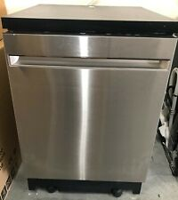 Ge Gpt225Sslss 24 Inch Portable Dishwasher with 3-Level Wash System