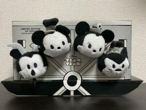 Disney Steamboat Willie Tsum Tsum Box D23 Expo 2015 Plush Toy Doll LE 2000 USED