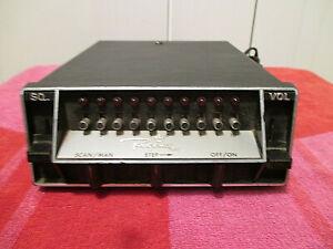 Vintage REGENCY ACT-R-106 10 Channel Radio Scanner