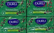 Duru Marseilles Moisturizing Olive Oil Soap - 180g x 12 Pure & Natural